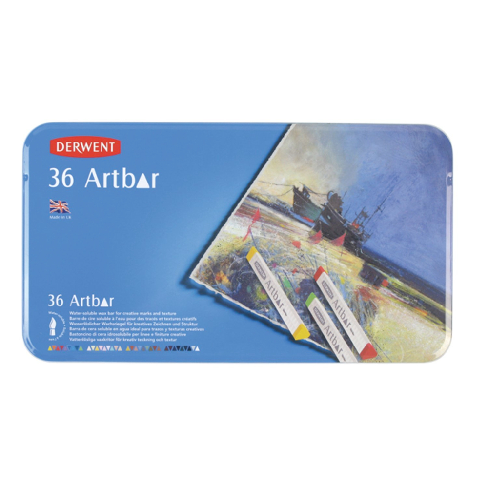 Derwent Artbar 36 Color Tin Set
