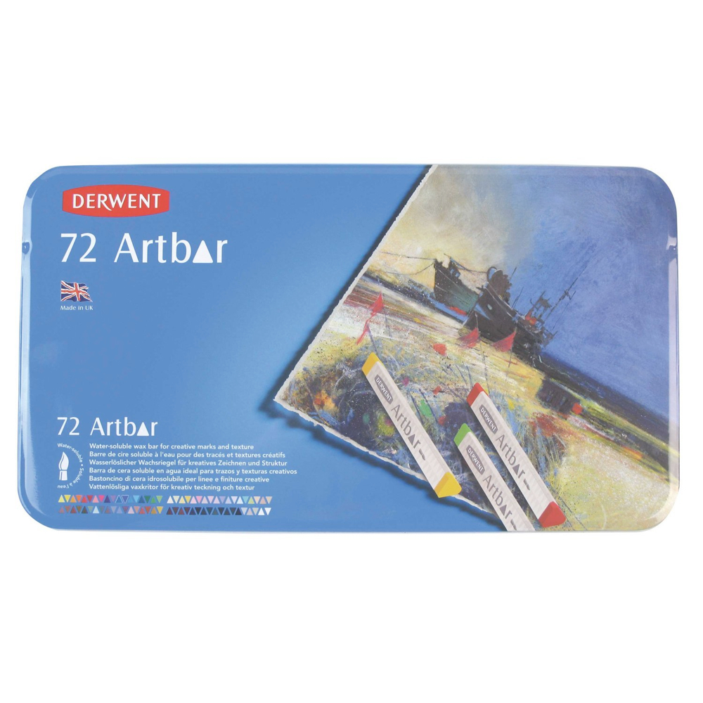 Derwent Artbar 72 Color Tin Set