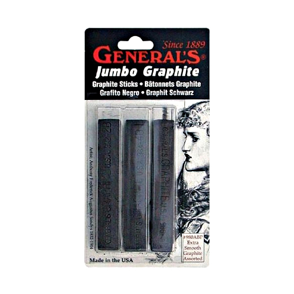 General 3 Jumbo Graphite Assorted Set