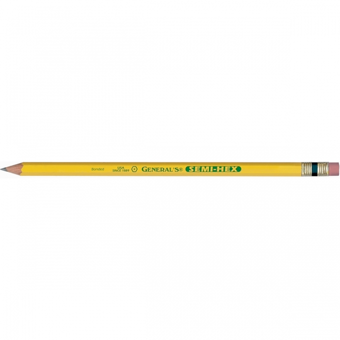 General Semi-Hex Graphite Pencil No 4B