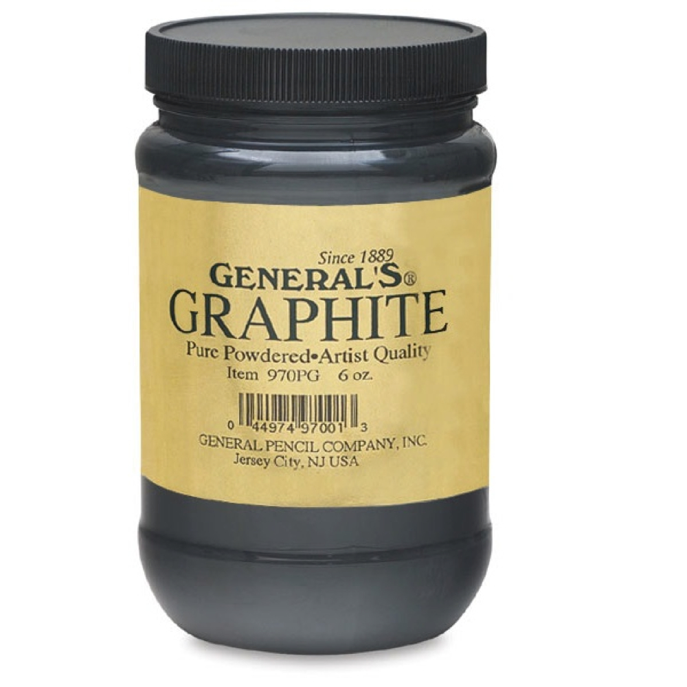General 6 Oz Powdered Graphite