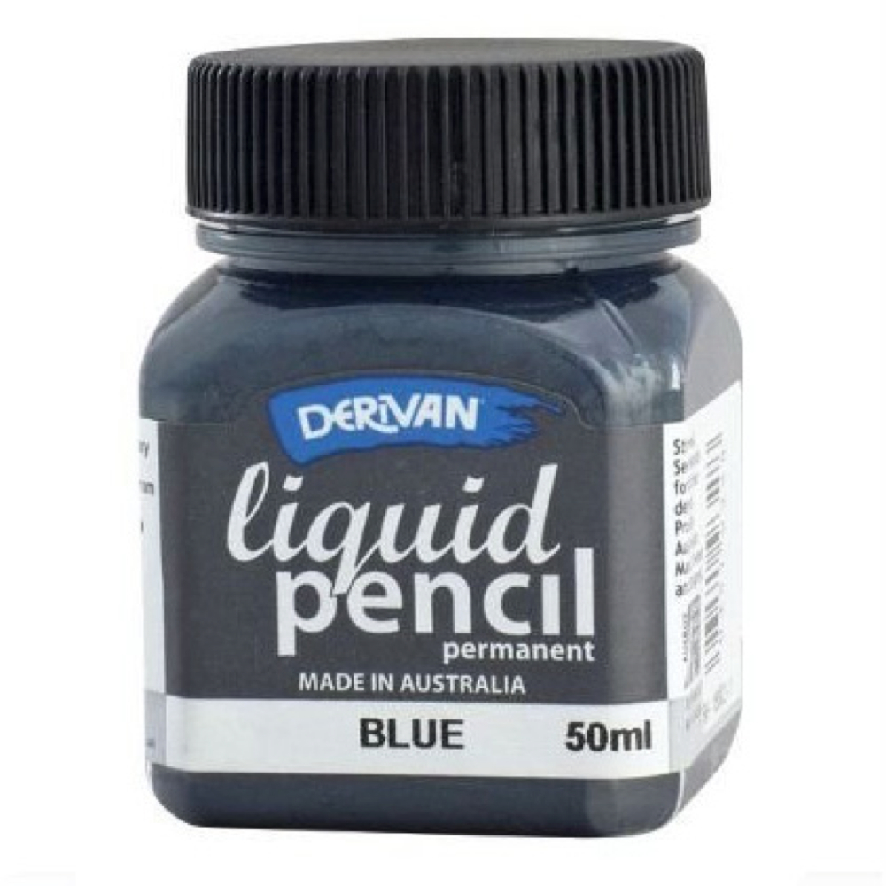 Liquid Pencil 50Ml Permanent Blue