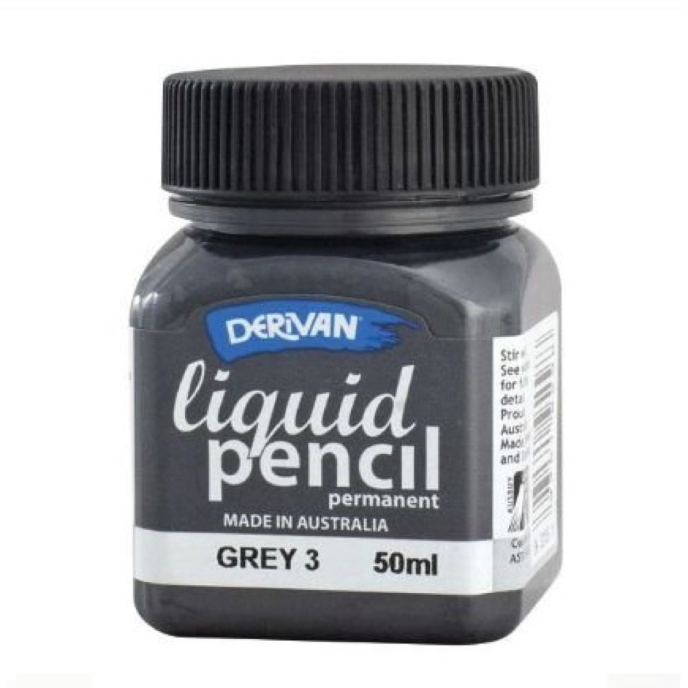 Liquid Pencil 50Ml Permanent Grey #3