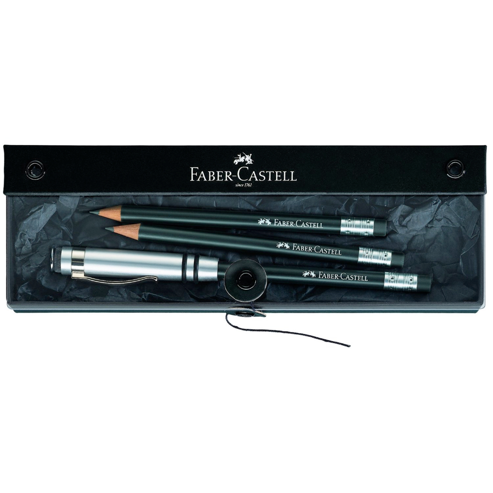 Faber-Castell Perfect Pencil Black Gift Set
