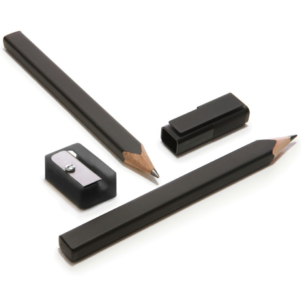 Moleskine Black Pencil Set