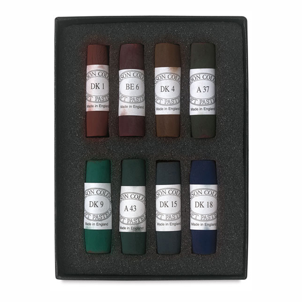 Unison Pastel Dark Set Of 8
