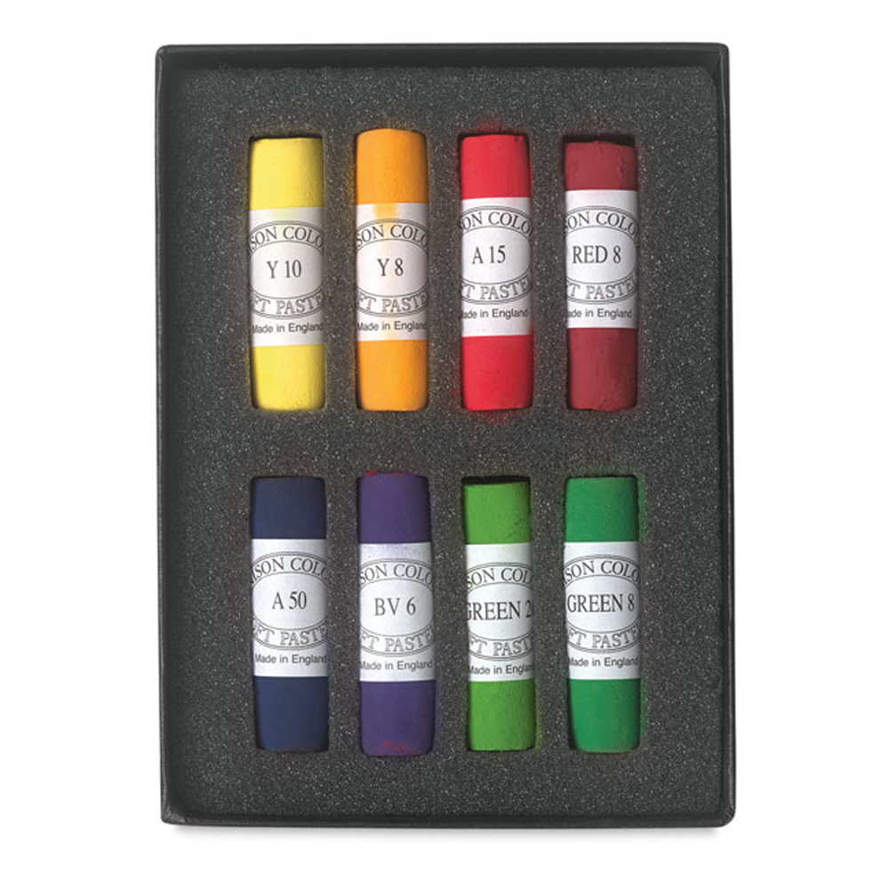 Unison Pastel Bright Set Of 8