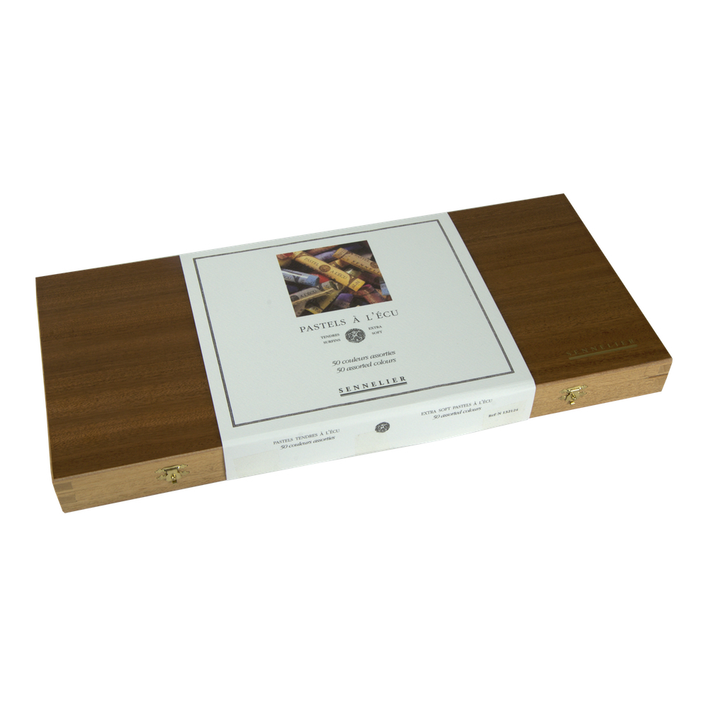 Sennelier 50 Full Pastel Wood Box Set