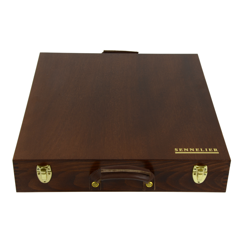 Sennelier 250 Full Pastel Wood Box Set