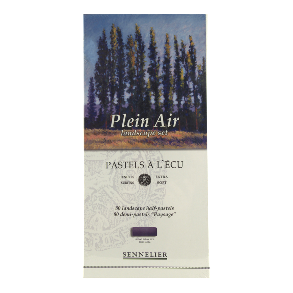 Sennelier 80 Half Stick Plein Air Boxed Set