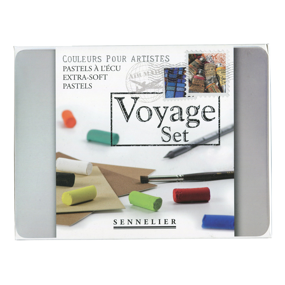 Voyage Metal Box Set 10 Half Soft Pastels