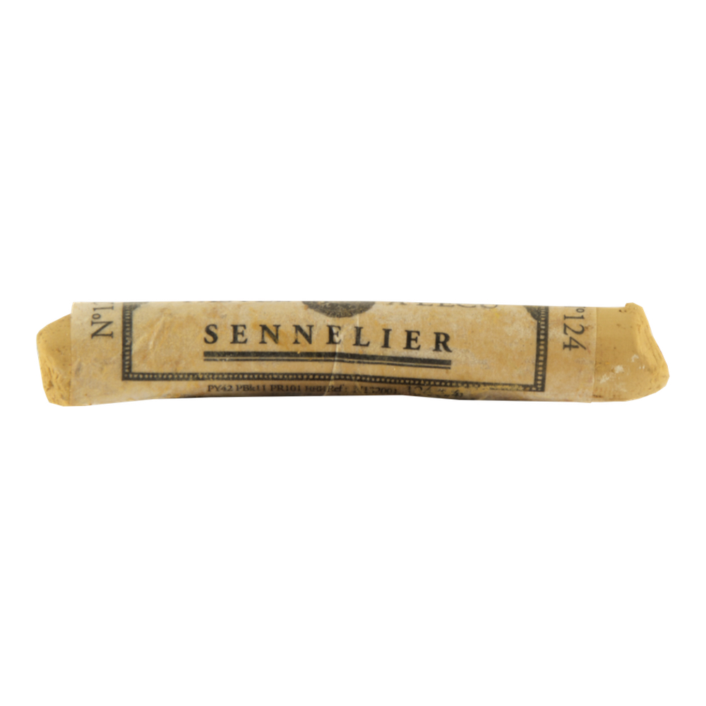 Sennelier Soft Pastel Brown Ochre 124