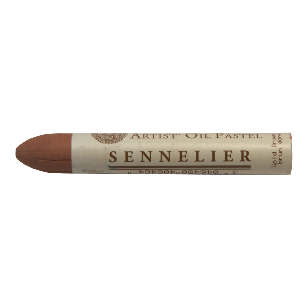 Sennelier Oil Pastel Gold Brown