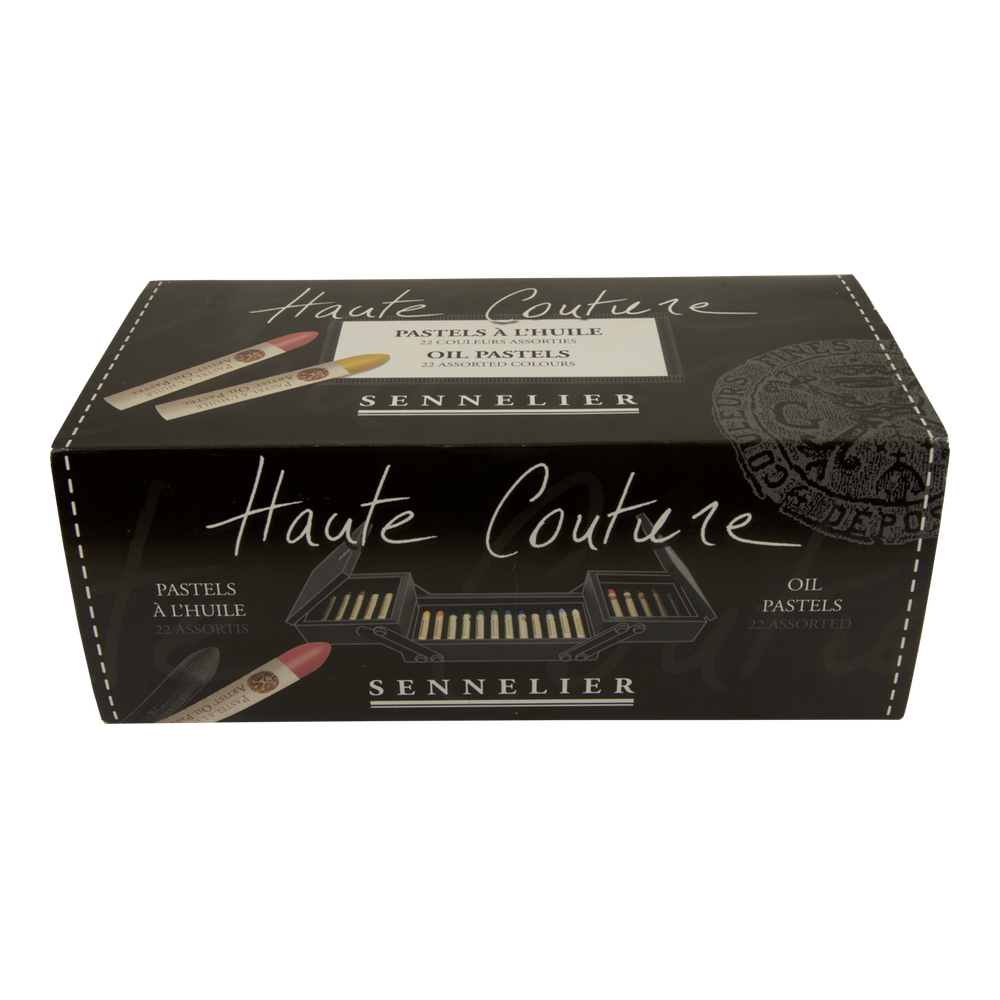 Haute Couture Set Of 22 Oil Pastels