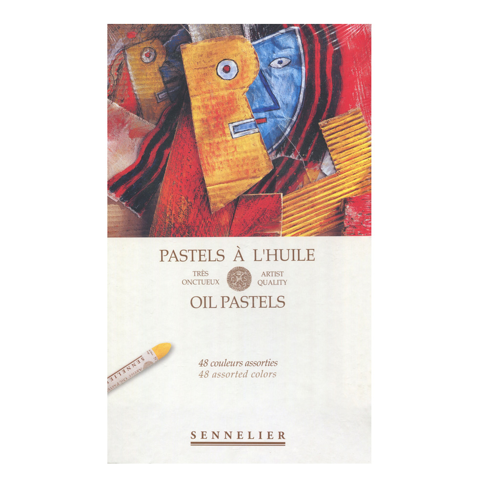 Sennelier Oil Pastel Assorted Set Of 48