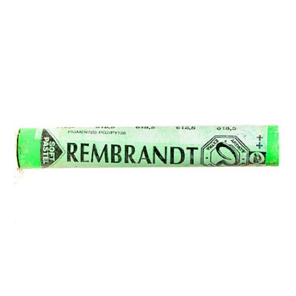 Rembrandt Pastel 618.5 Permanent Green Light