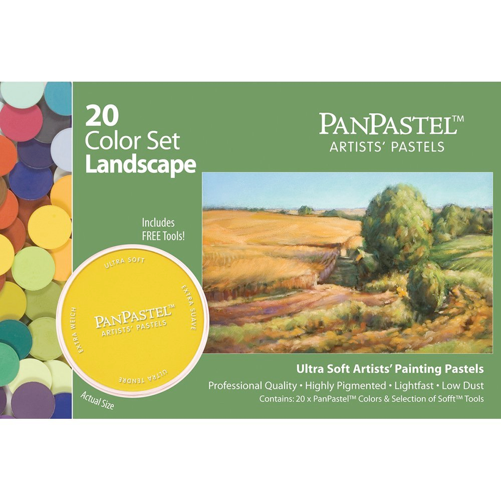 Panpastel 20 Color Landscape Set