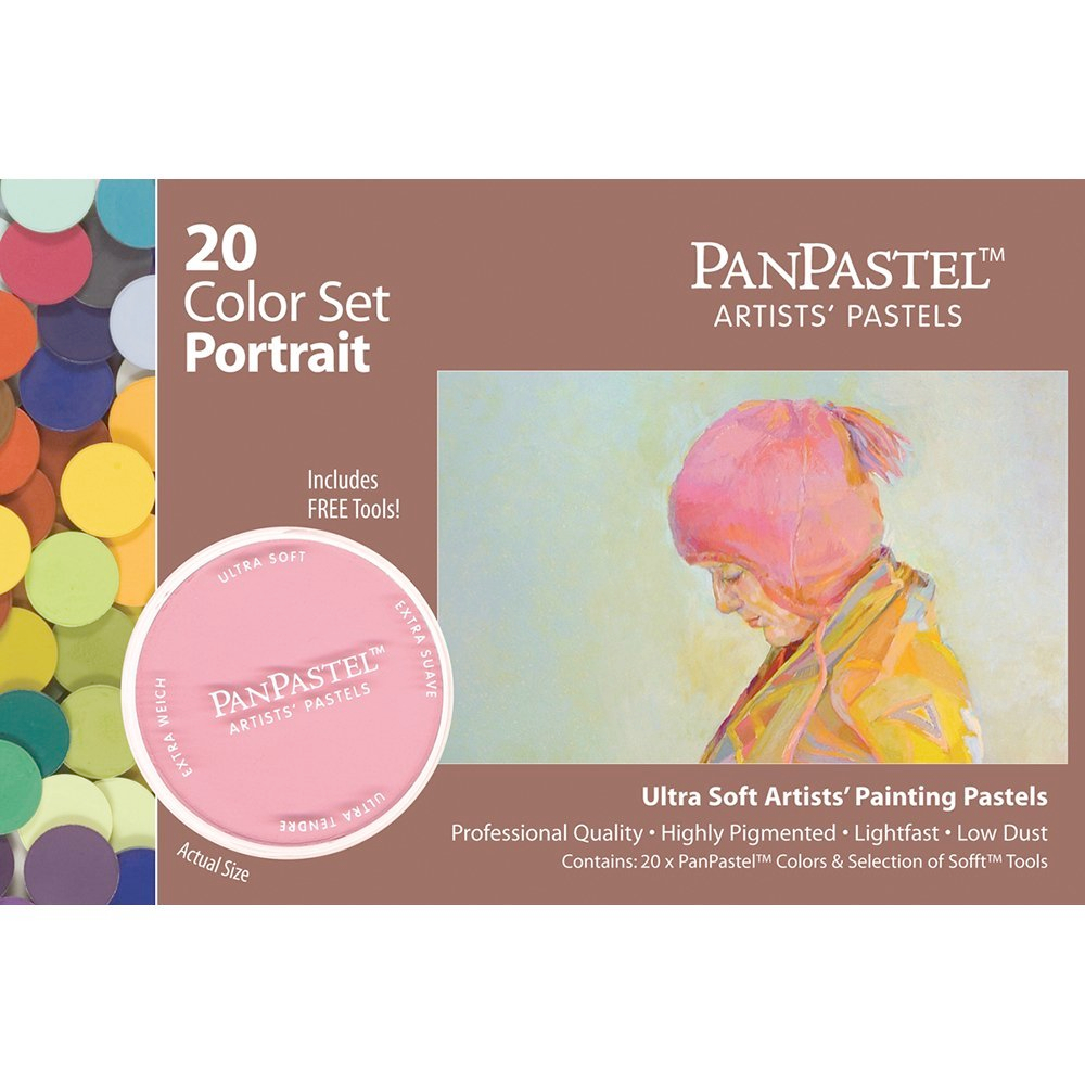Panpastel 20 Color Portrait Set