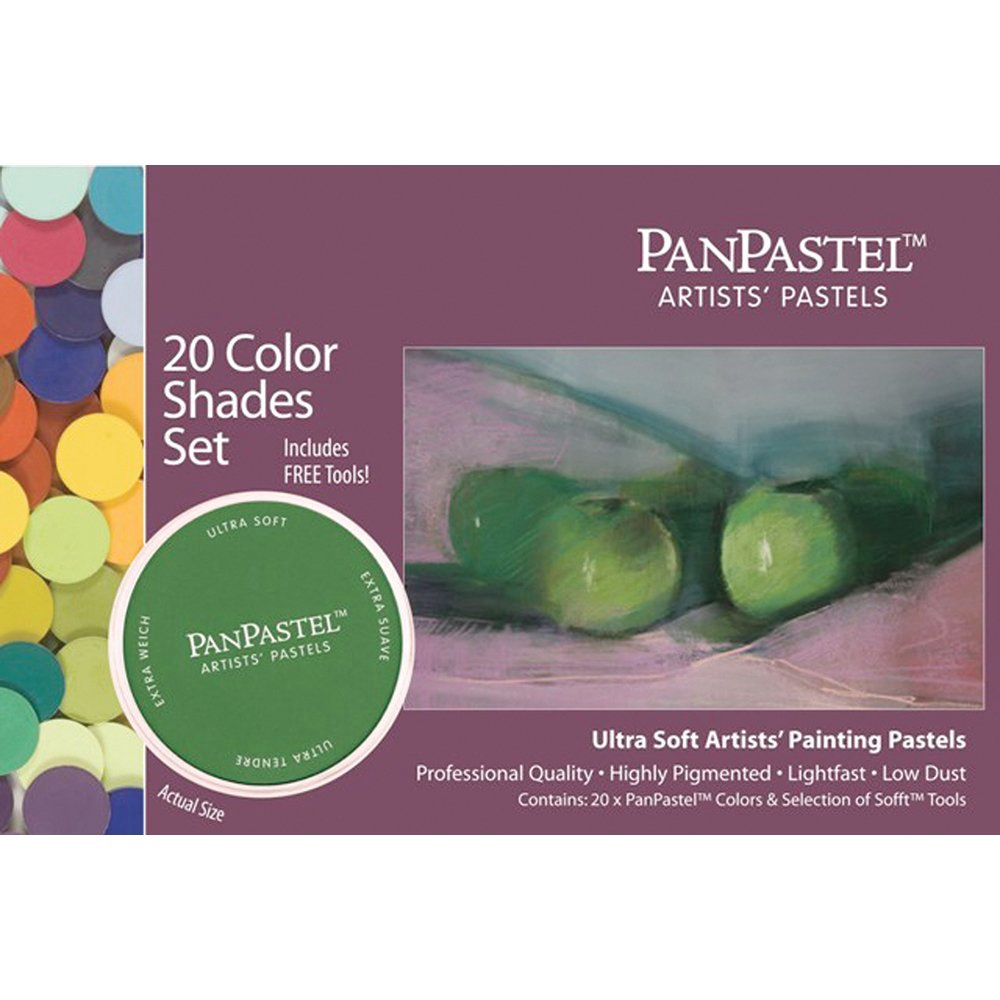 Panpastel 20 Color Shades Set