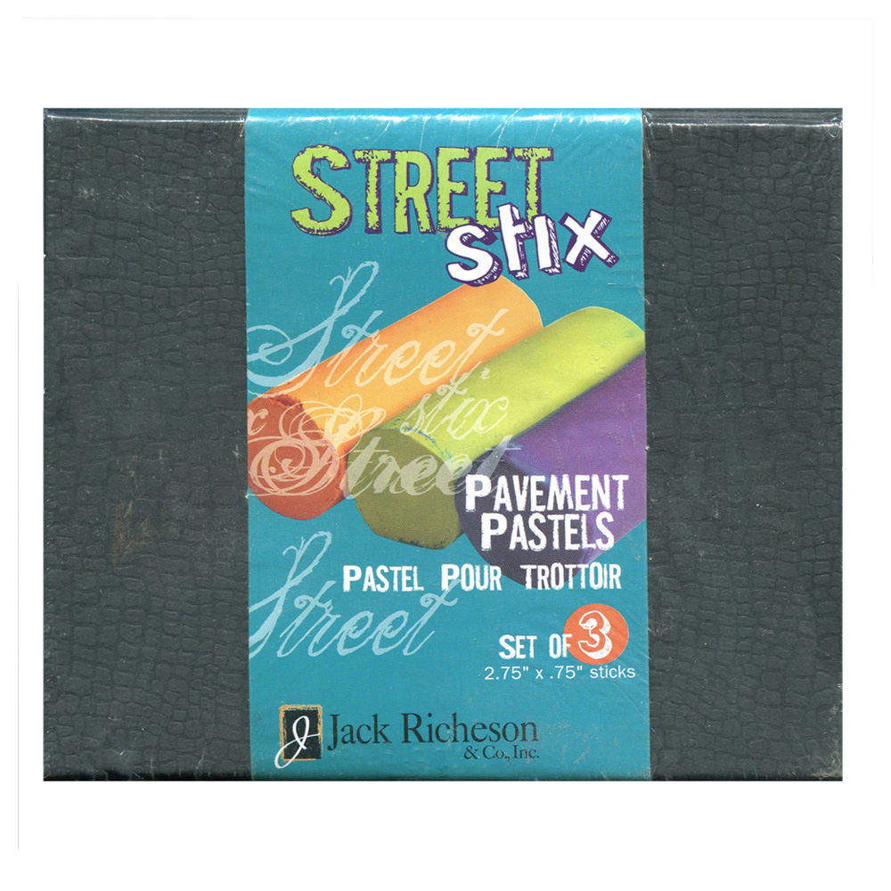 Street Stix: Pavement Pastel Set Of 3