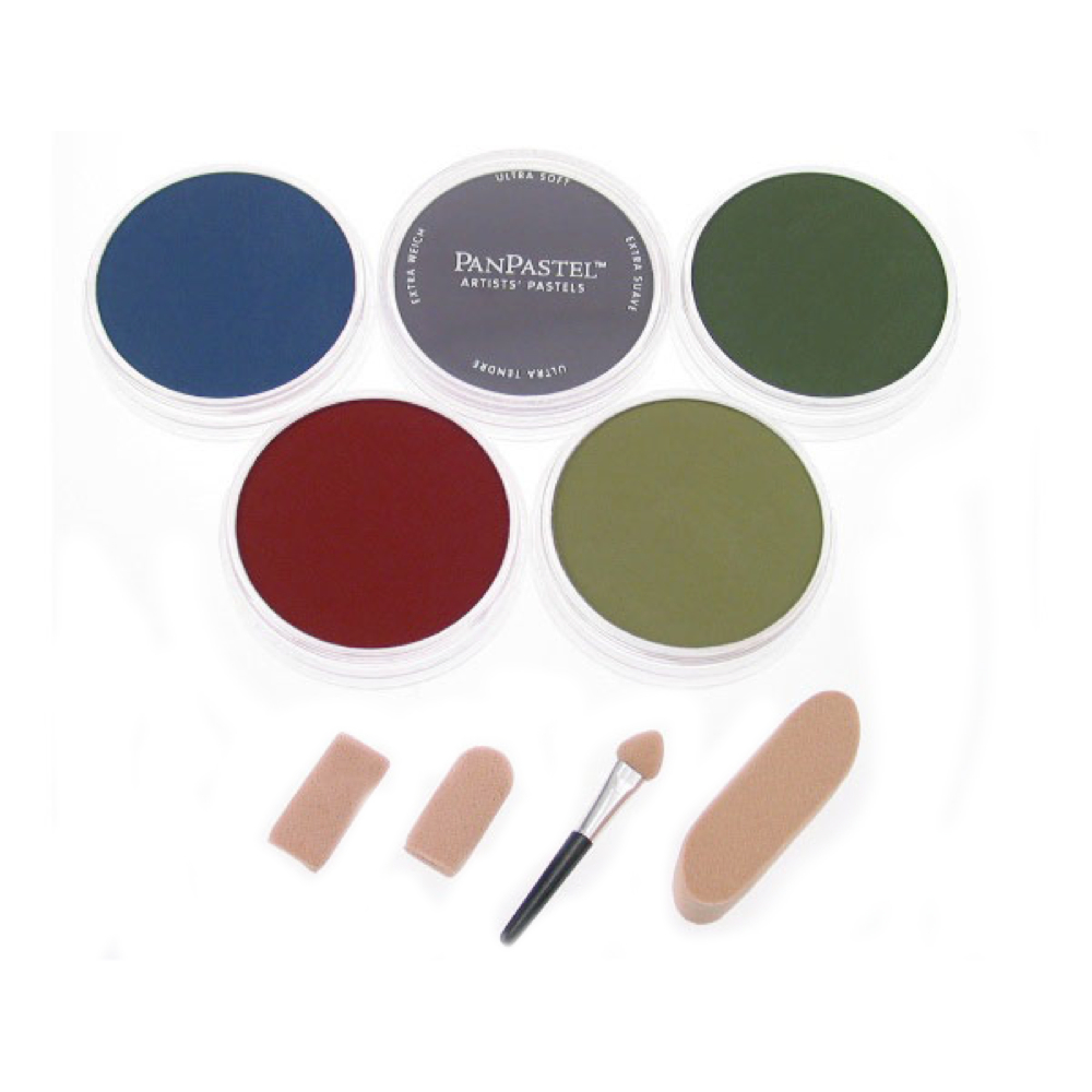 Panpastel 5 Color Set - X-Dark Shades
