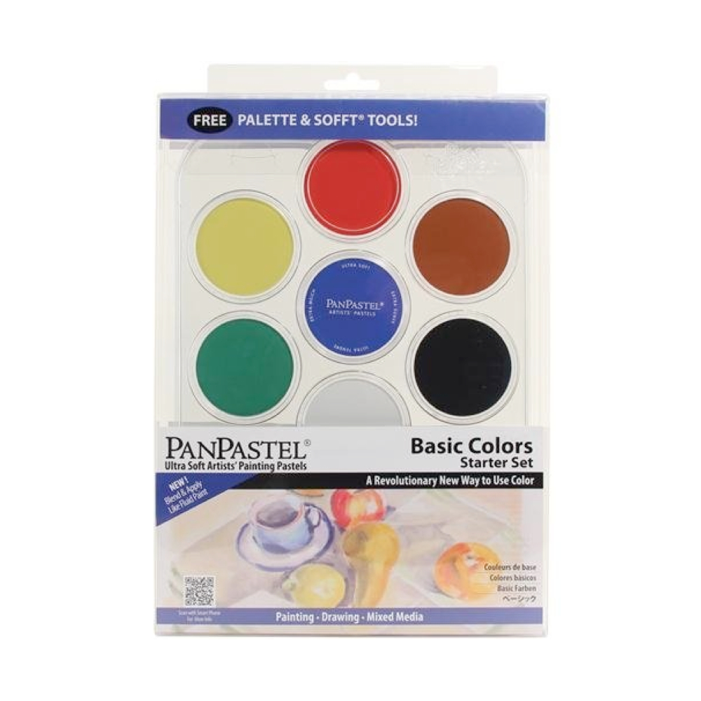 Panpastel 7 Color Basic Foundation Color Set
