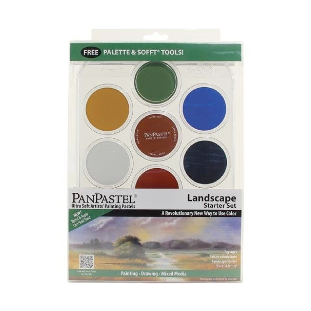 Panpastel 7 Color Landscape Starter Set