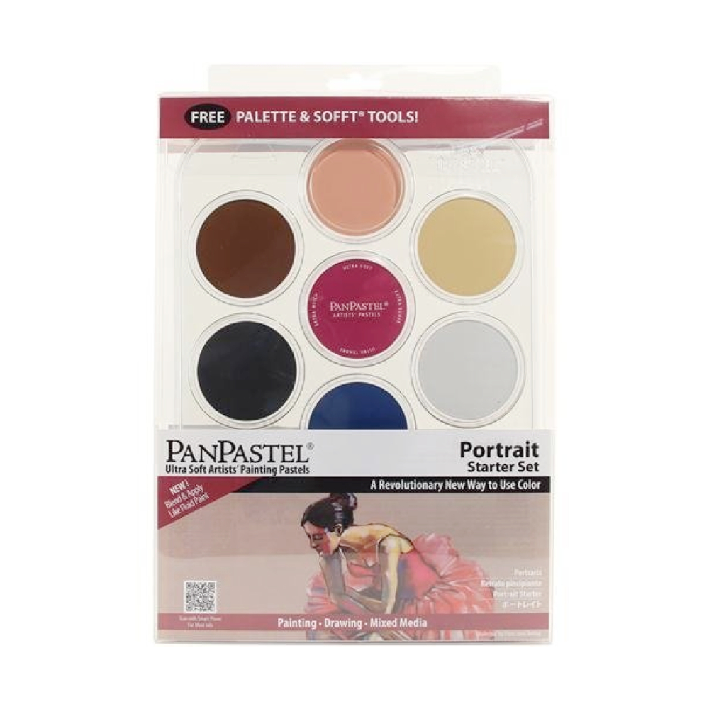 Panpastel 7 Color Portrait Starter Set