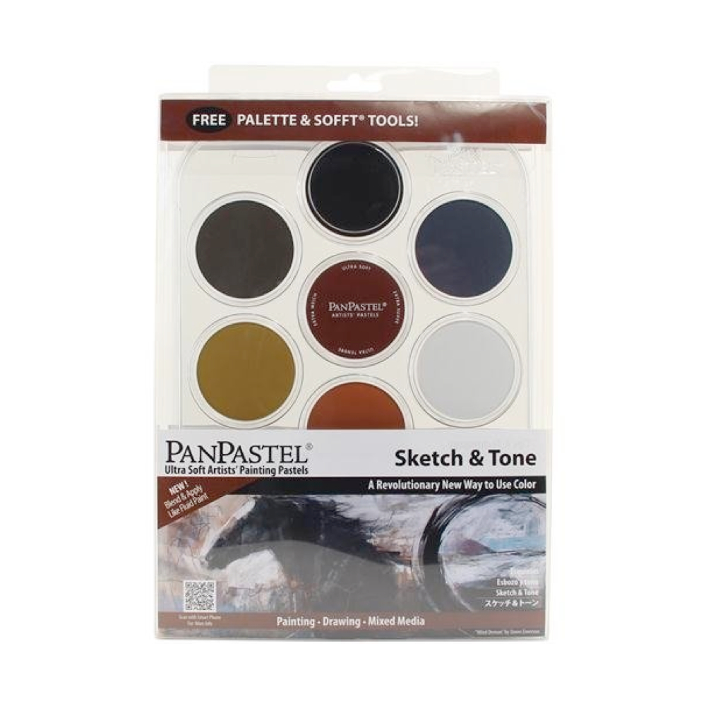 Panpastel 7 Color Sketch & Tone Set