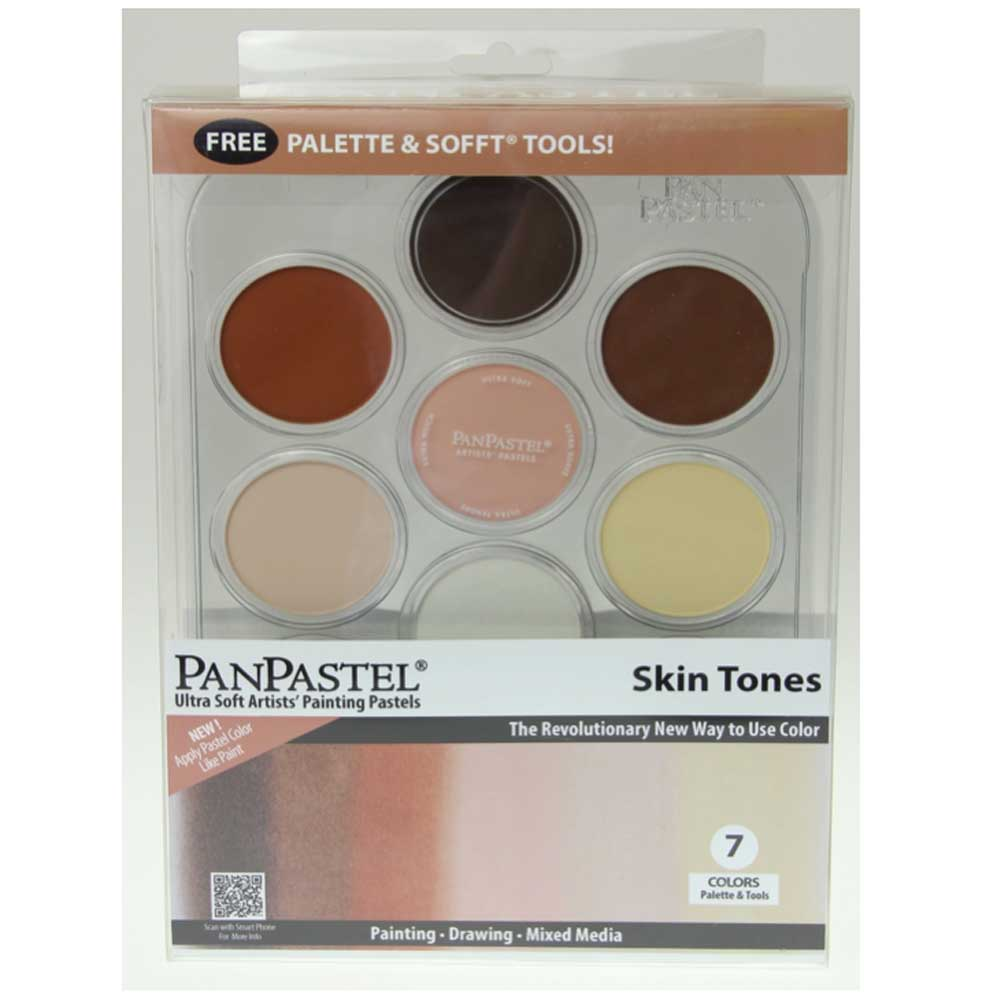 Panpastel 7 Color Skin Tones Set