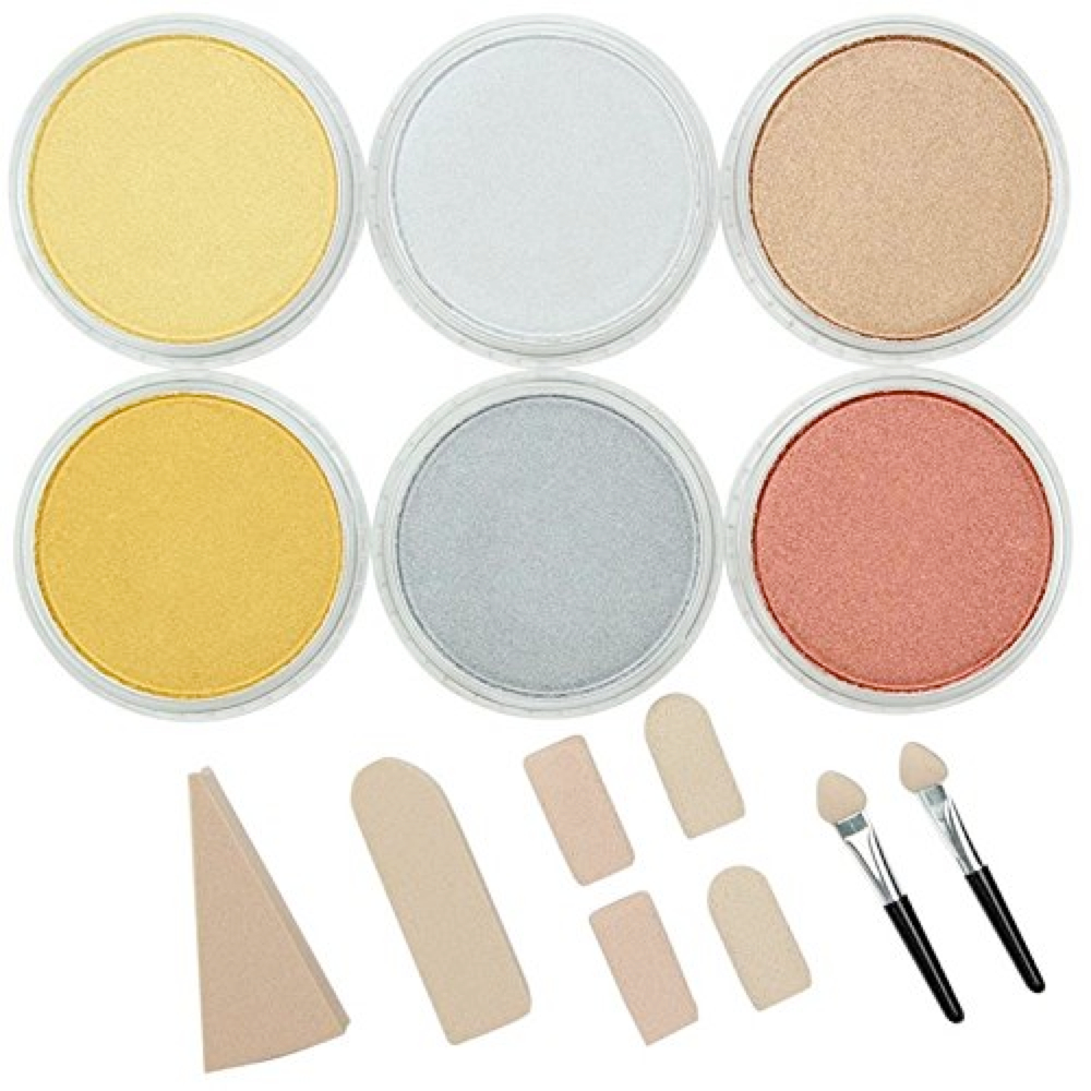Panpastel 6 Color Metallics Set