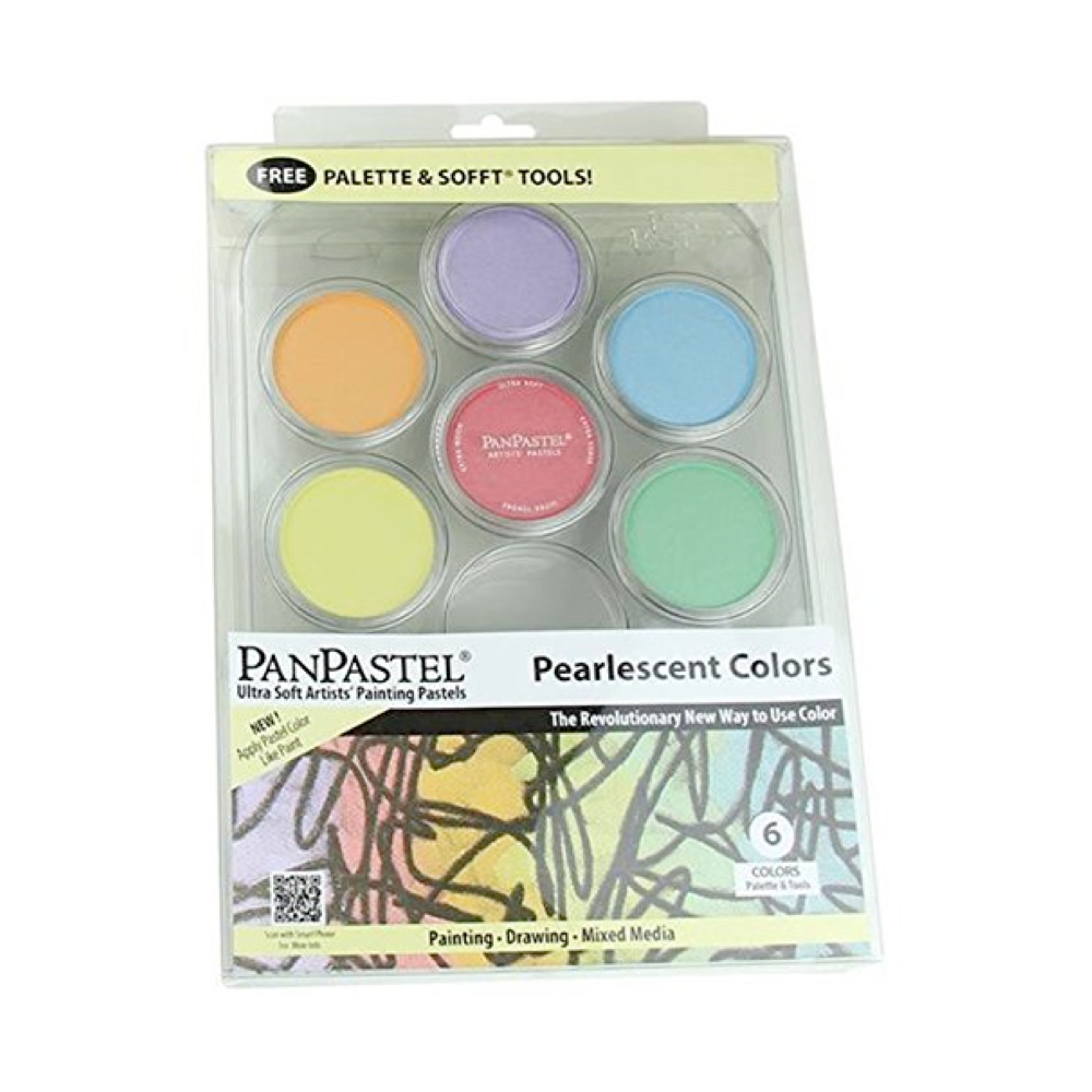 Panpastel 6-Color Pearlescent Painting Set