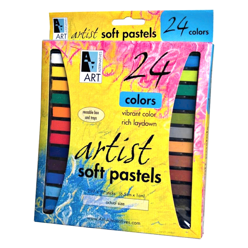Art Alternatives Pastel 24-Color Set