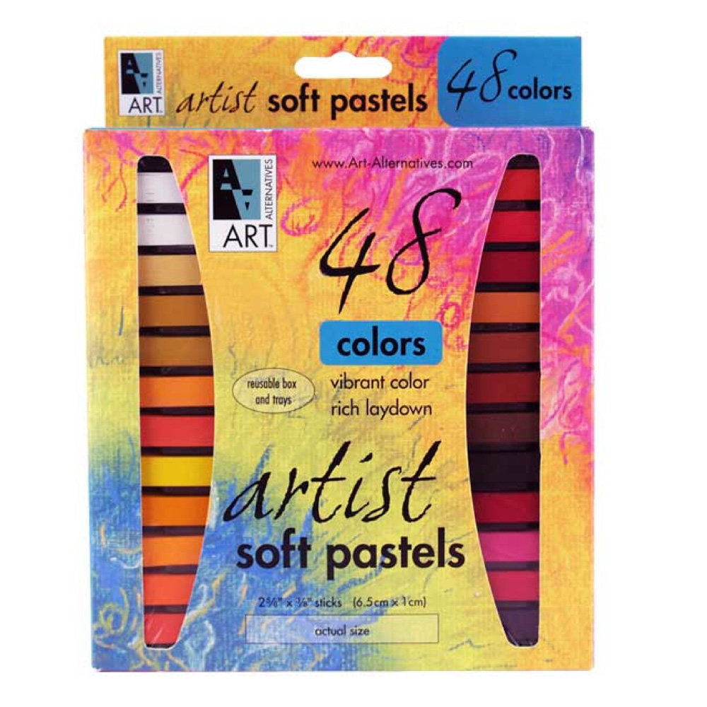 Art Alternatives Pastel 48-Color Set