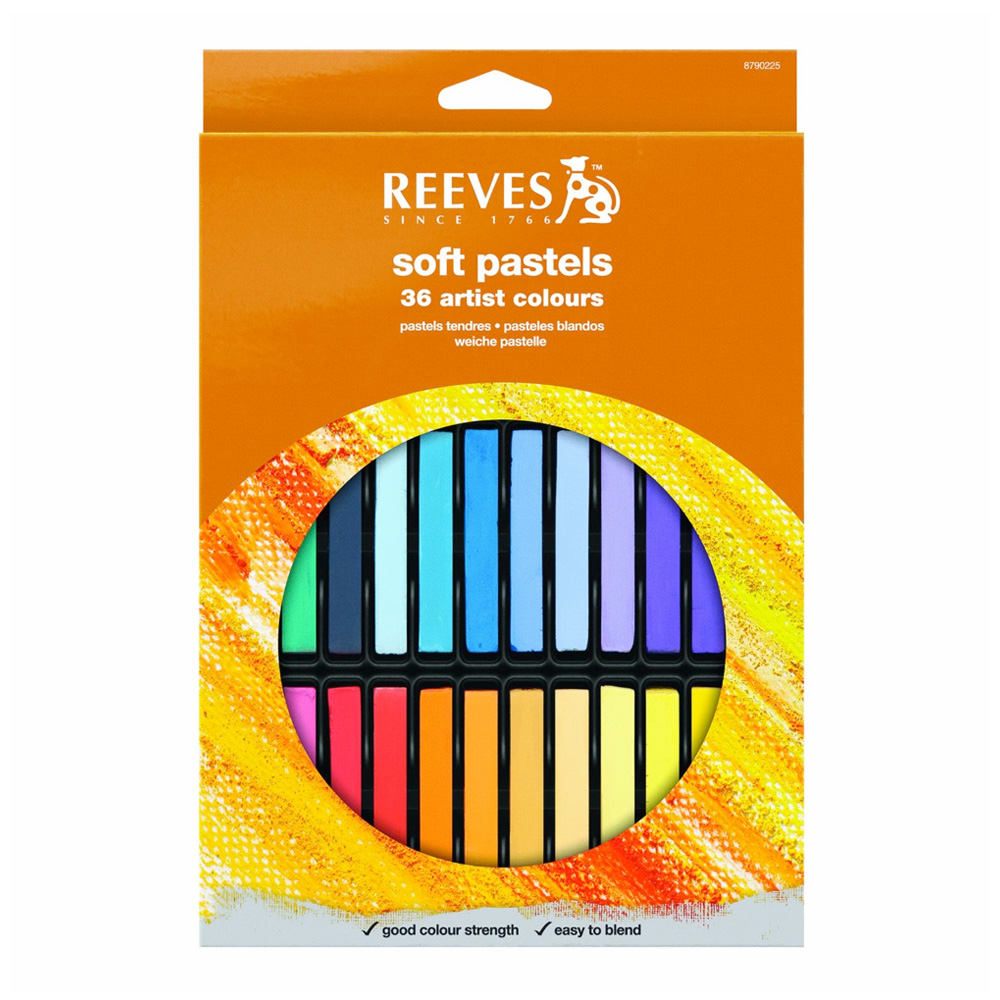Reeves Soft Pastel Set Of 36