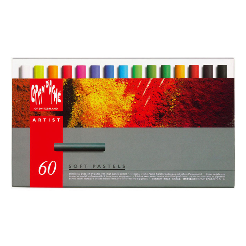 Caran D'ache 60 Piece Soft Pastel Set