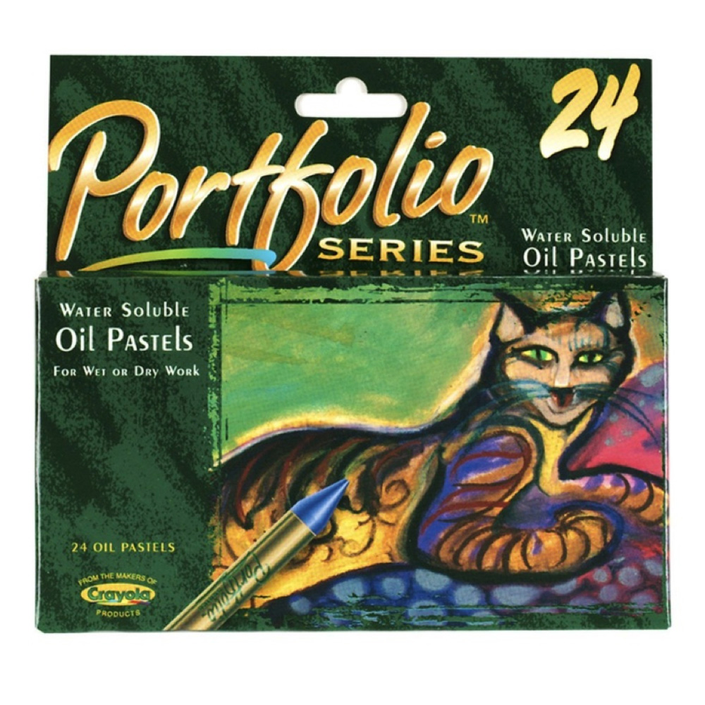 Portfolio Water Soluble Oil Pastel Set Of 24