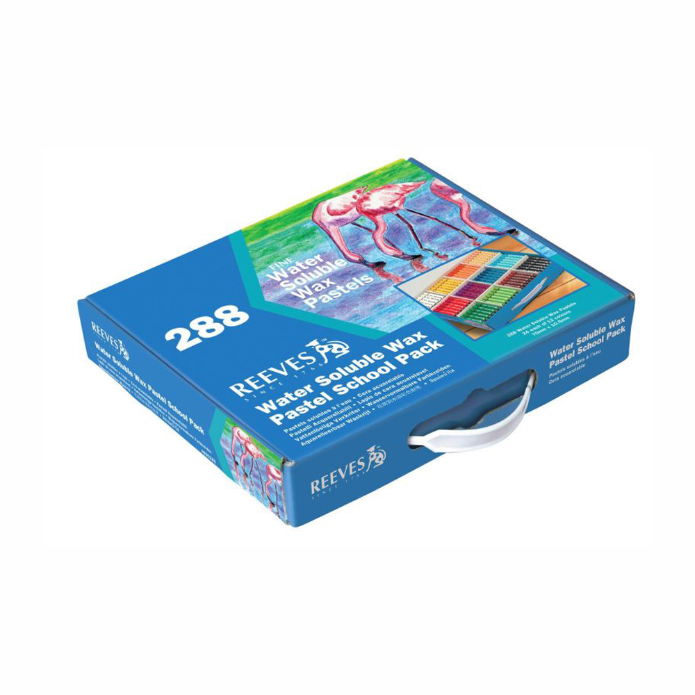 Reeves Water Soluble Wax Pastels 288 Sticks