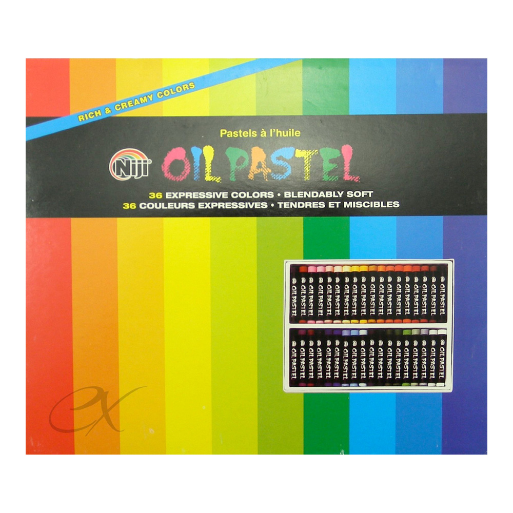 Niji Oil Pastels 36 Color Set
