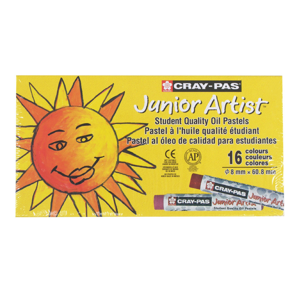 Cray-Pas Junior Set Of 16 Colors