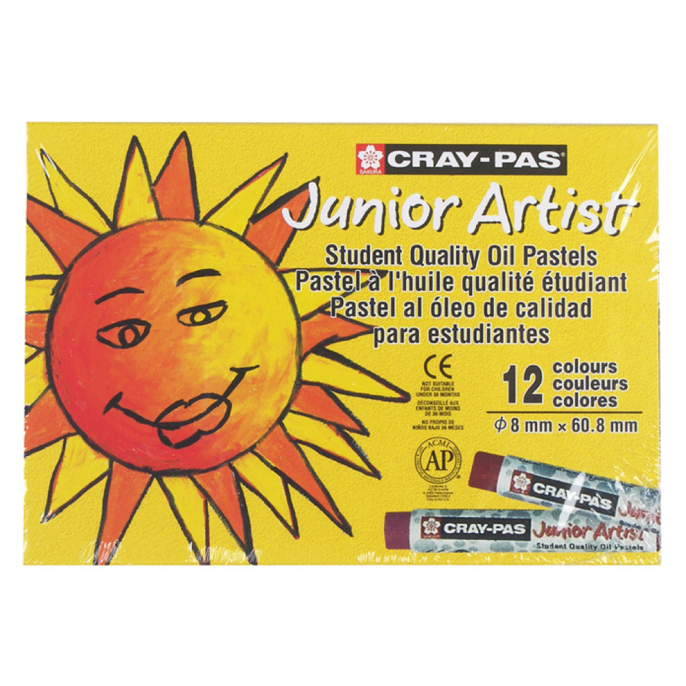 Cray-Pas Junior Set Of 12 Colors