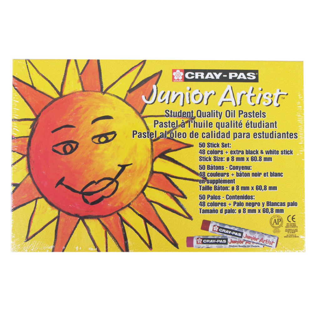 Cray-Pas Junior Set Of 50 Colors