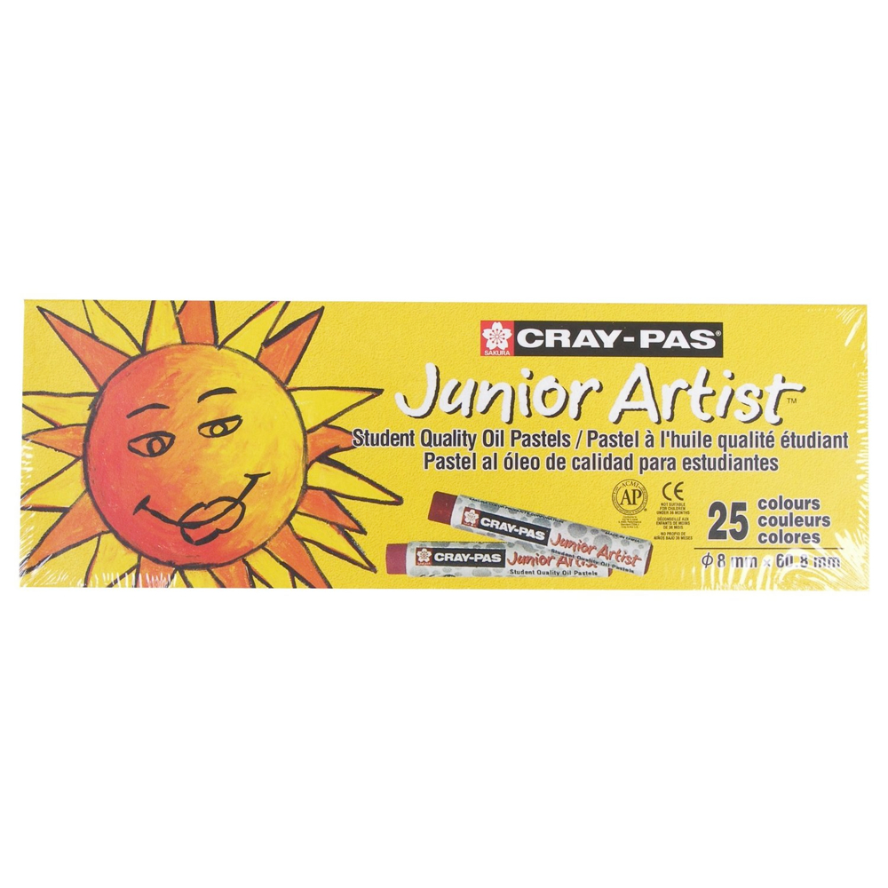 Cray-Pas Junior Set Of 25 Colors