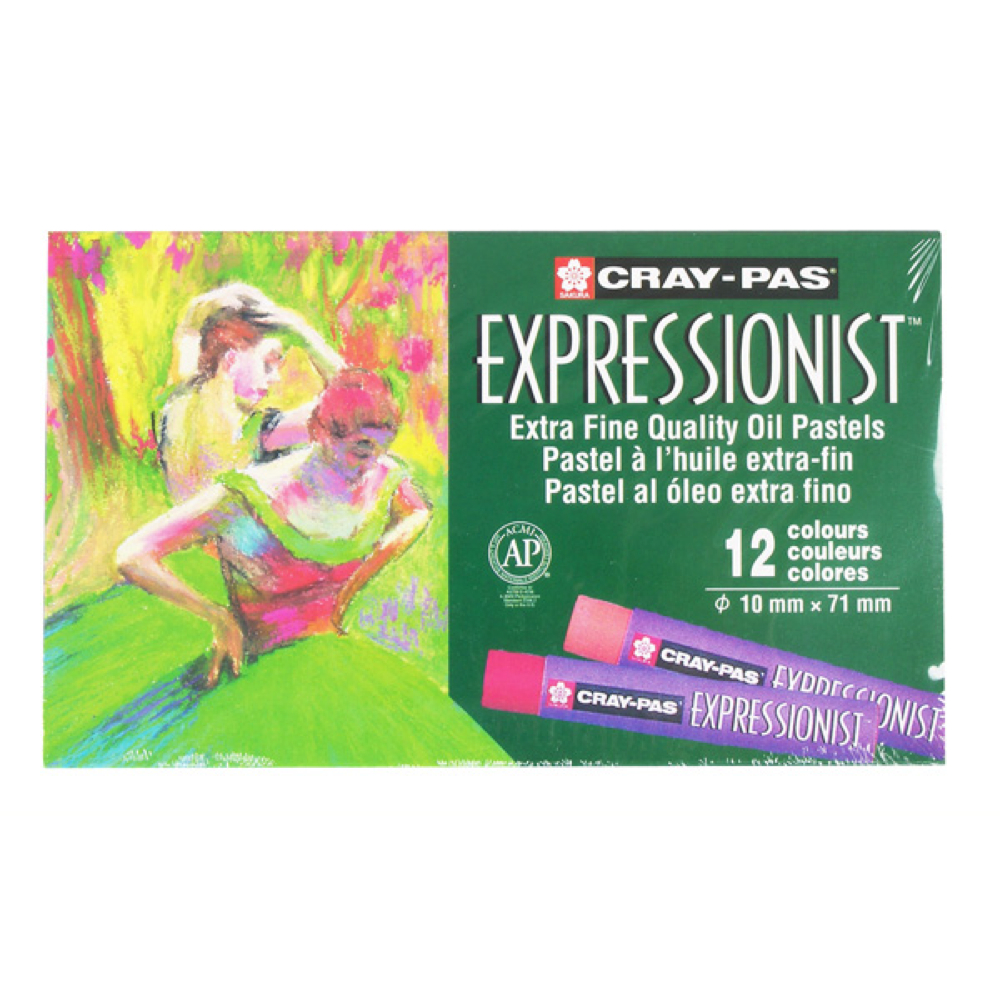 Cray-Pas Expressionist Set/12 Colors