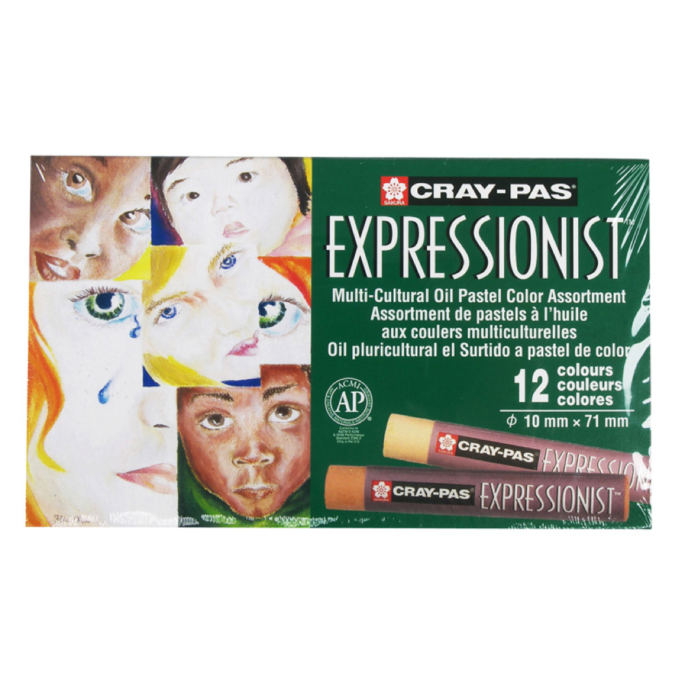 Cray-Pas Expressionist Multi-Cultural Set/12
