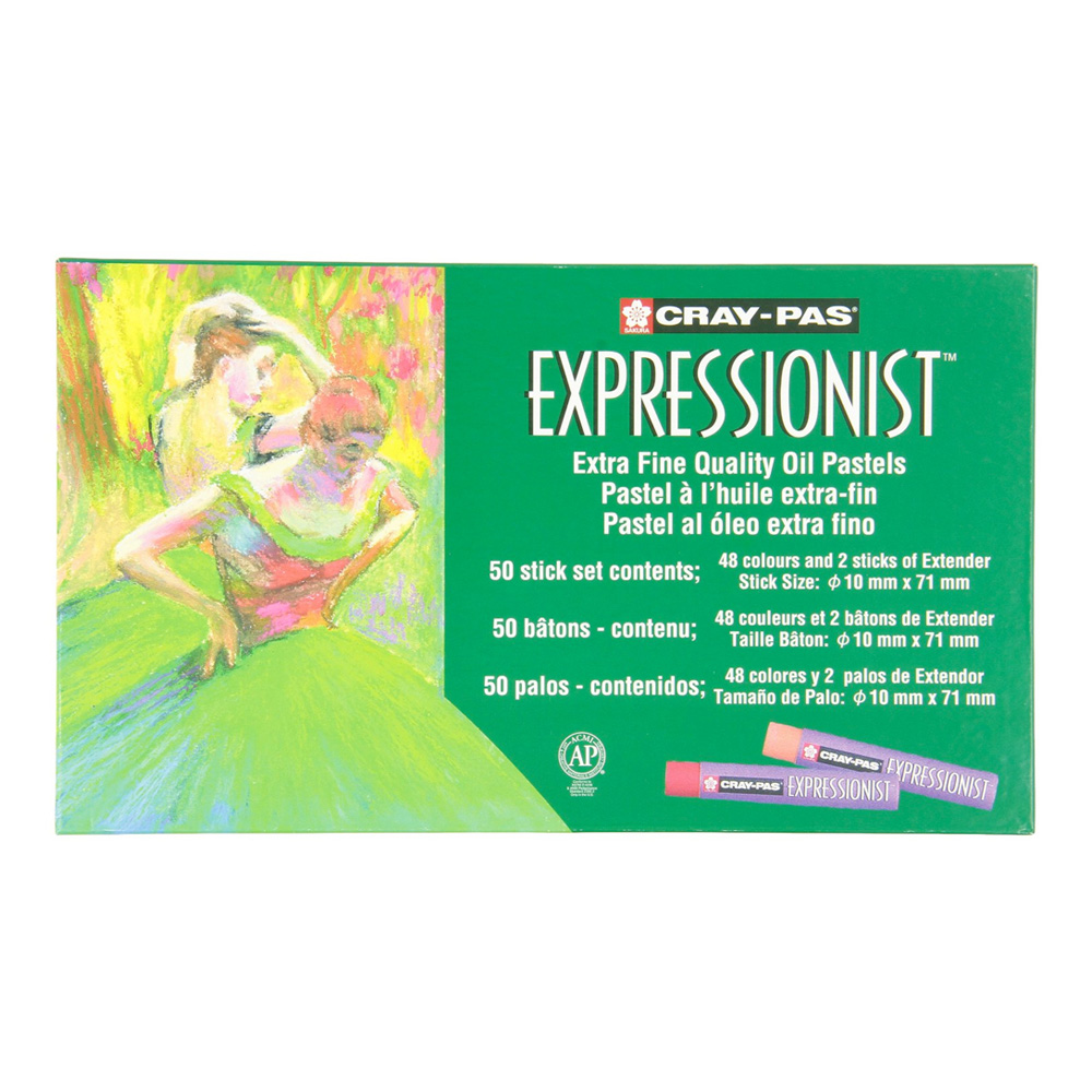 Cray-Pas Expressionist Set/50 Colors
