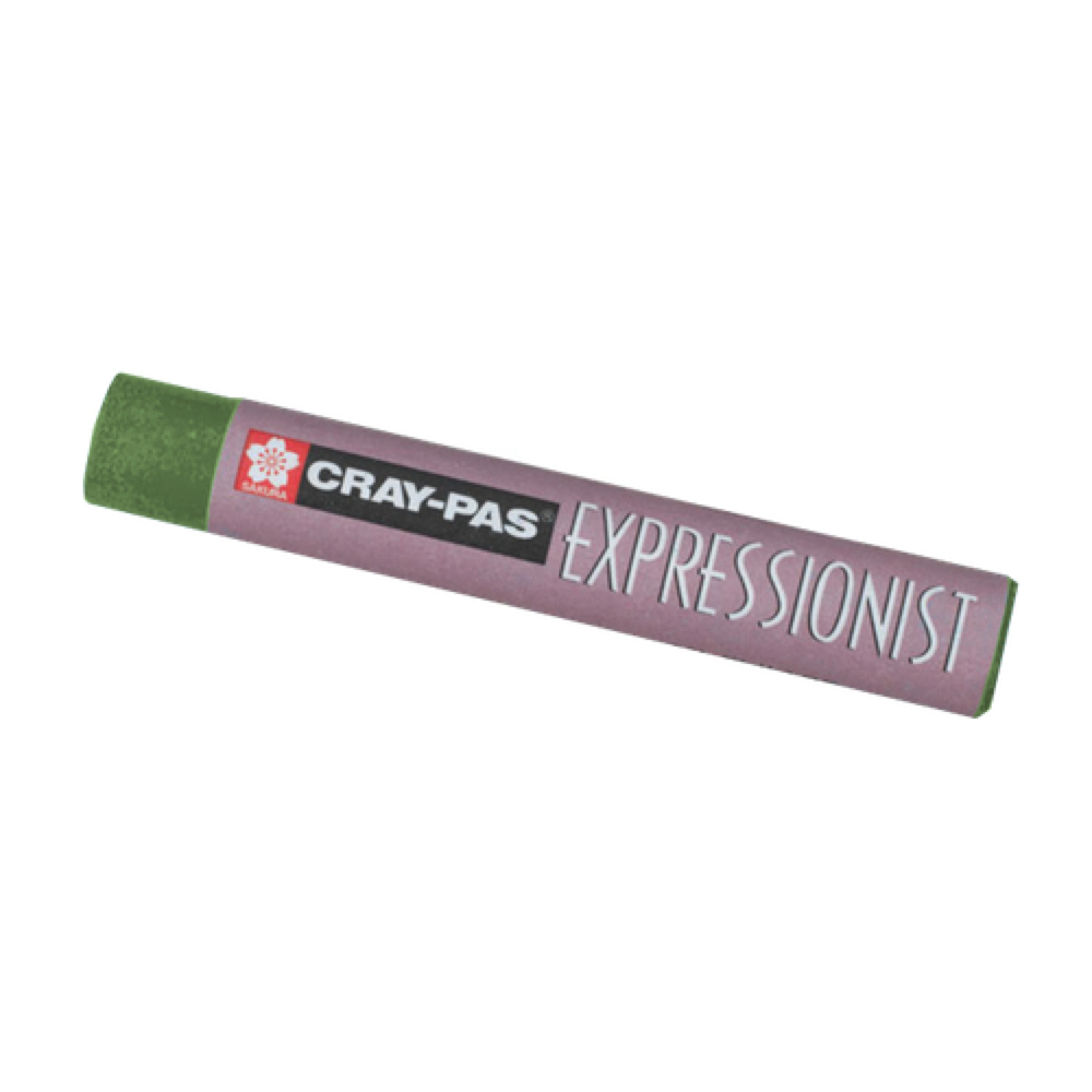 Cray-Pas Expressionist Pastel Green Gray