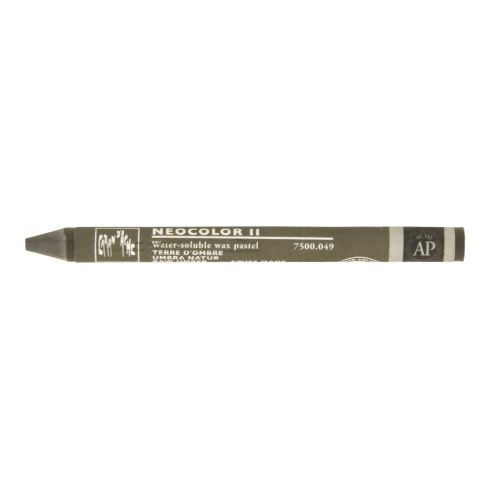 Neocolor Ii Watercolor Crayon 049 Raw Umber