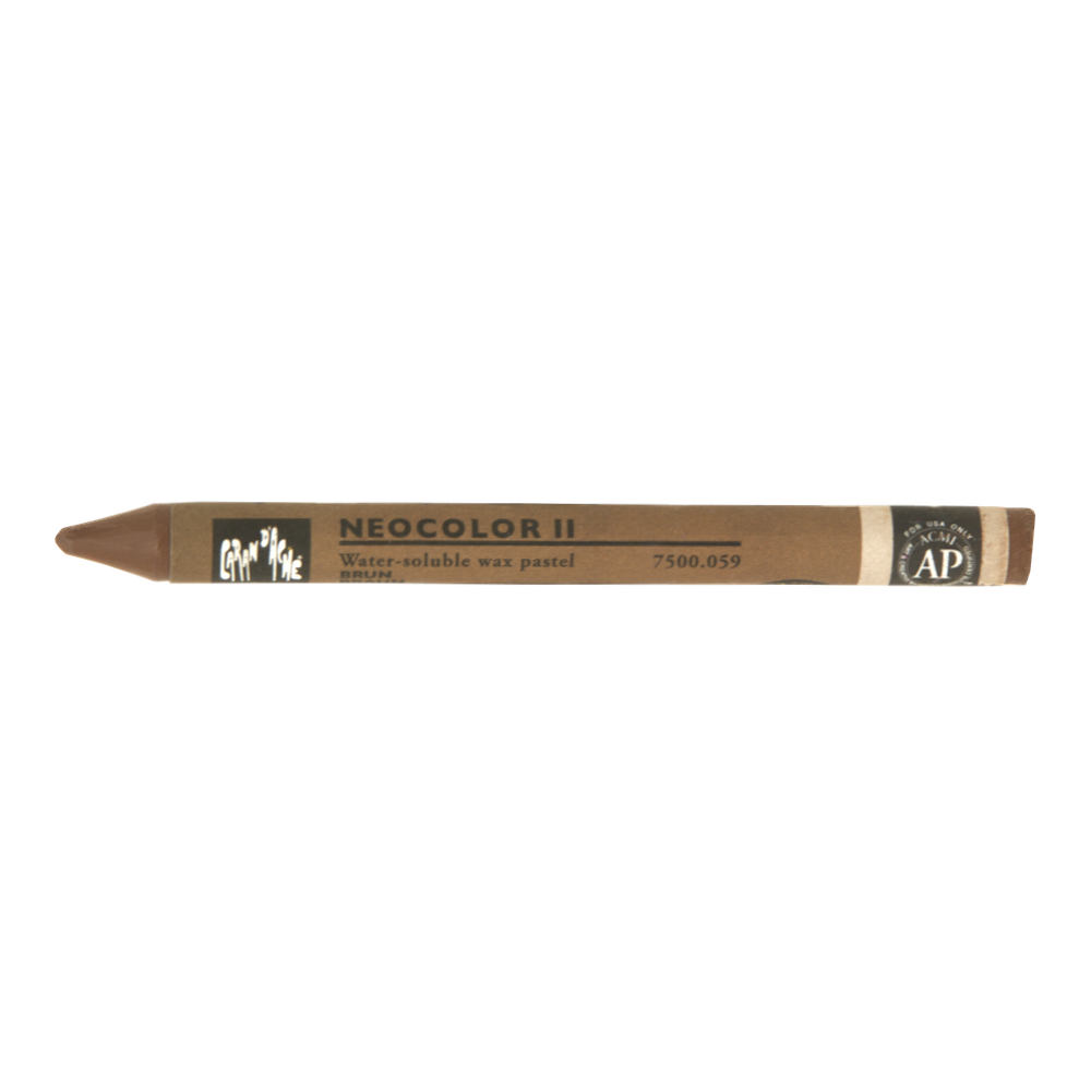 Neocolor Ii Watercolor Crayon 059 Brown