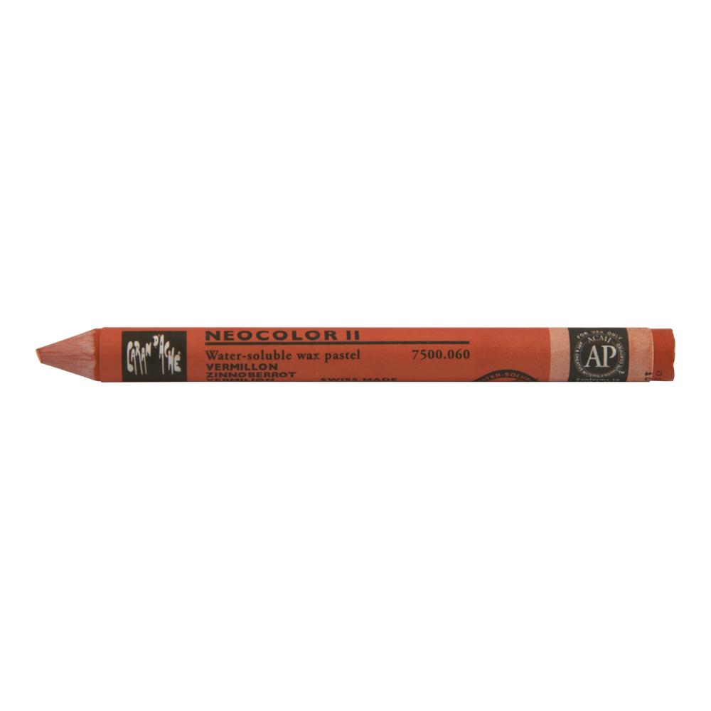 buy neocolor ii watercolor crayon 060 vermilion